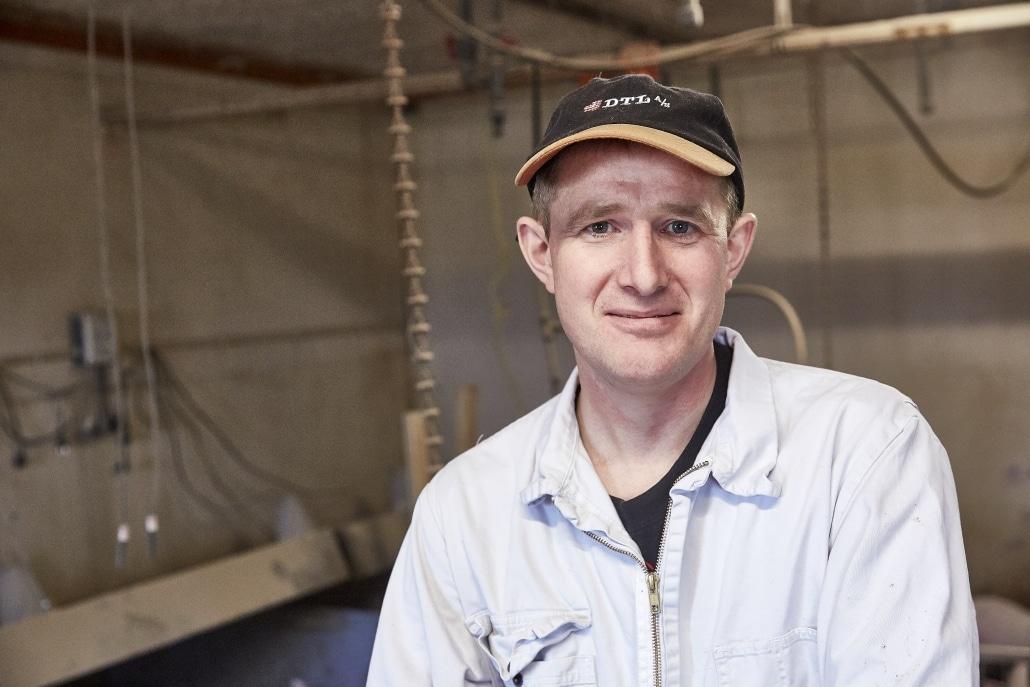 Thomas Jessen anvender fermenteret raps EP100i i sit smågrisefoder